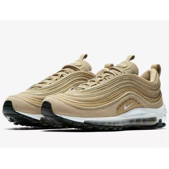best sneakers de598 00a22 NIKE AIR MAX 97 SE PARACHUTE BEIGE CORDUROY GOLD